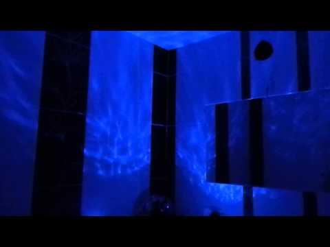 Волны океана  - Подсветка потолка в ванной комнате.