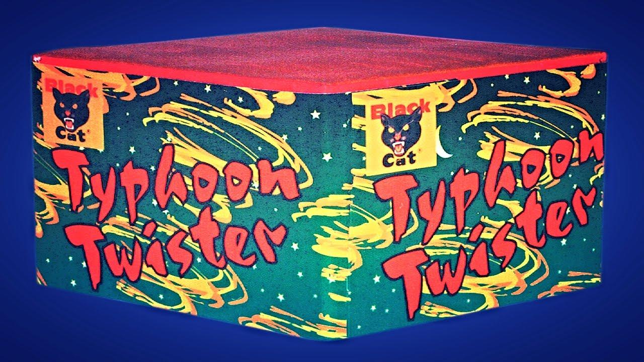 Typhoon Twister 16 Shot by Black Cat Fireworks