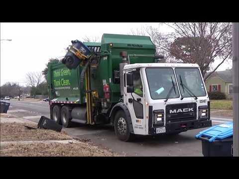 Waste Management: Mack LR CNG McNeilus ZR ASL