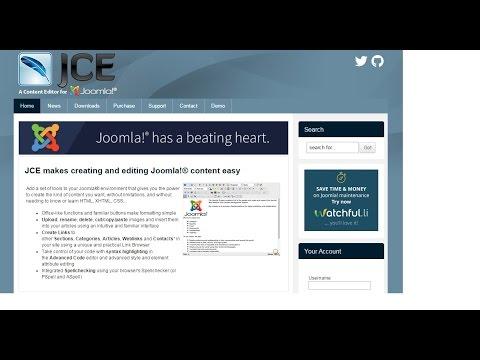 Обзор текстового редактора JCE и плагина JCE MediaBox