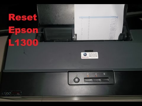 Reset Epson L1300 Waste Ink Pad Counter