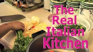 How to Make Fish Stock - Brodo di Pesce - Real Italian Kitchen