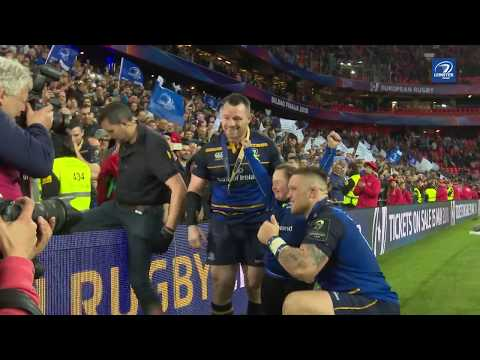 Team celebrations after Champions Cup Final win | #ChampionsofEurope