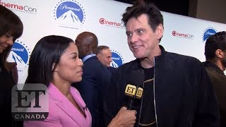 Jim Carrey Talks Playing The Bad Guy In 'Sonic The Hedgehog' Movie