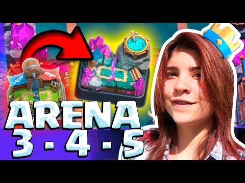 ¡MEJOR MAZO para SUBIR RÁPIDO de ARENA 3, 4 y 5!