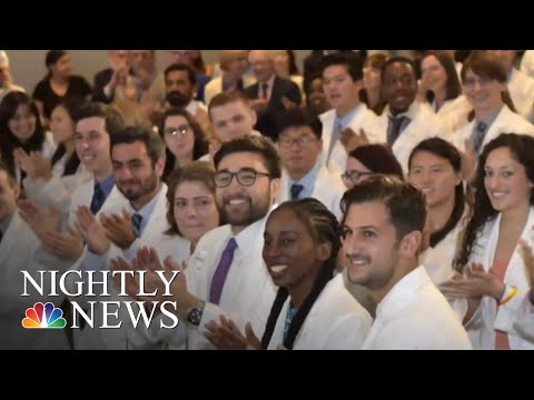NYU Makes Tuition Free For Medical Students, Hoping To Bring Change To The Prof. | NBC Nightly News