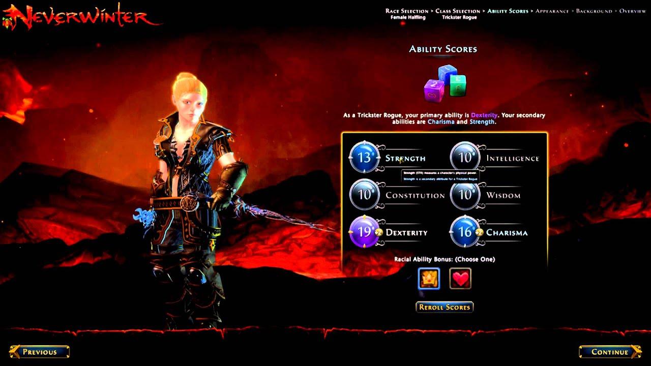 neverwinter online character slot
