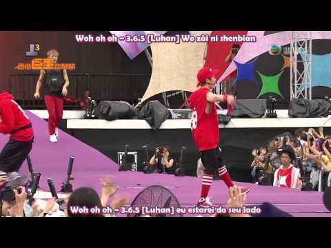 EXO-K Feat EXO-M- 3.6.5 (Legendado PT-BR + Romanização) [LIVE]