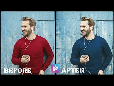 How To Change Dress/clothes Color By Using Picsart On