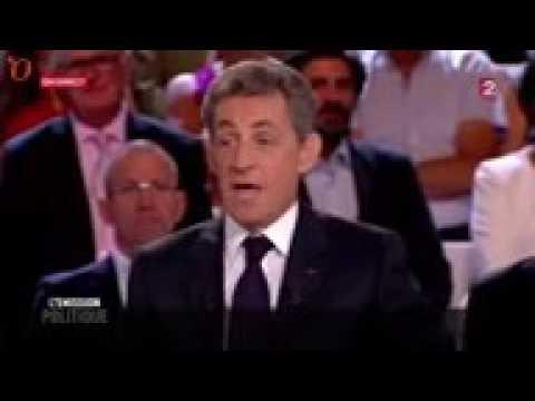 Nicolas Sarkozy et Léa Salamé   chaude ambiance sur le plateau