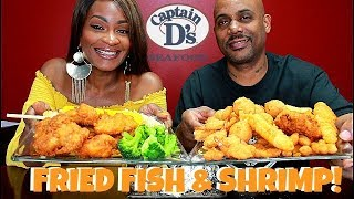FINALLY A CAPTAIN D'S MUKBANG! MY FAVORITE FISH EVER!
