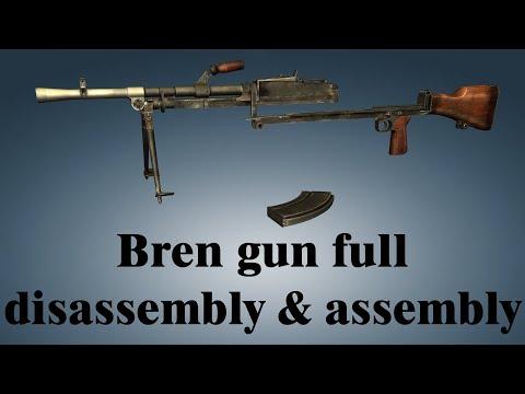 Bren gun: full disassembly & assembly