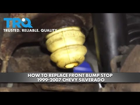 How to Replace Front Bump Stop 1999-07 Chevy Silverado