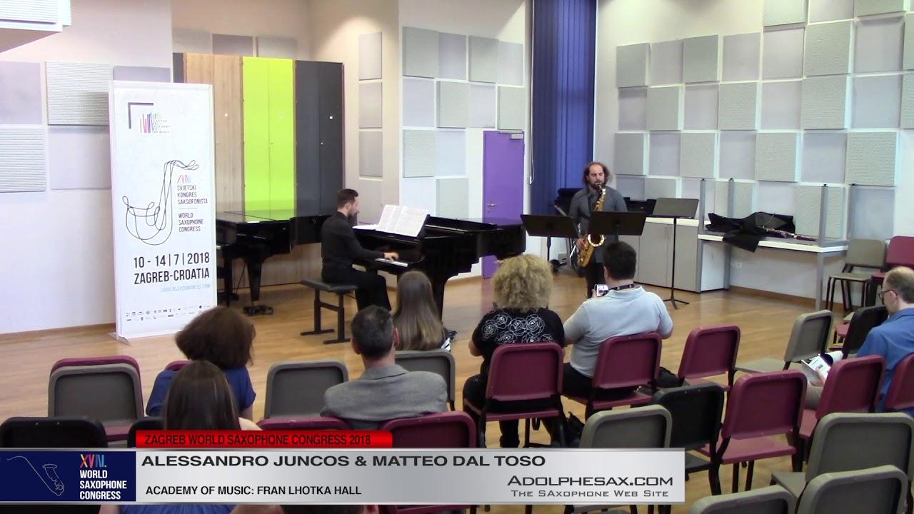 Pictures by Fabrizio Durlo   Alessandro Juncos & Matteo dal Toso   XVIII World Sax Congress 2018 #ad