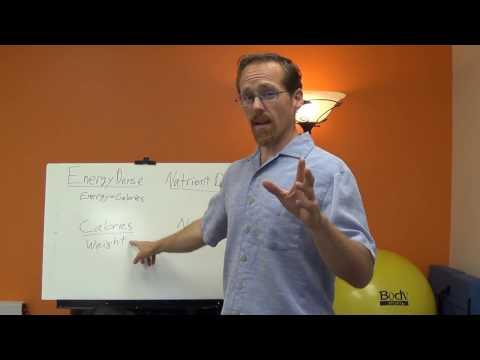 Energy Density vs. Nutrient Density