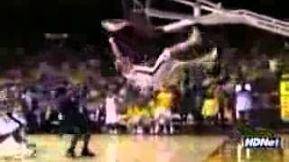 funny accident dunk