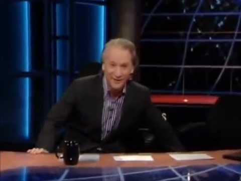 "Bill Maher-""Gannon-Gate""--Robin Williams, Joe Biden, Tommy Thompson"