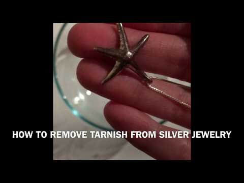 How to Remove Tarnish from Silver Jewelry with Aluminum Foil