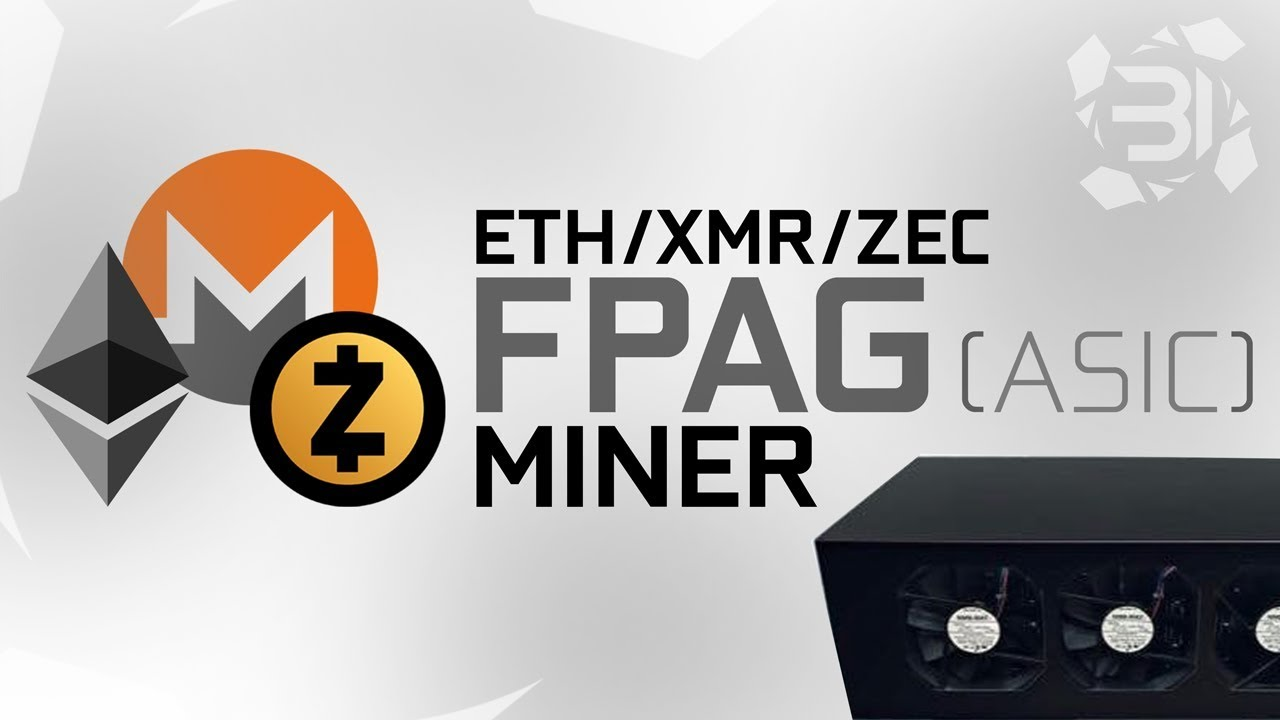 ETH/XMR/ZEC FPGA (ASIC) Miner + Alternative GPU Mining & Giveaway!