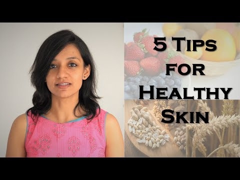 Tips for Clear & Glowing Skin | Diet for healthy skin | SCImplify