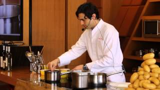 How to cook Gnocchi by Chef Grant Gordon at Diamond Hotel