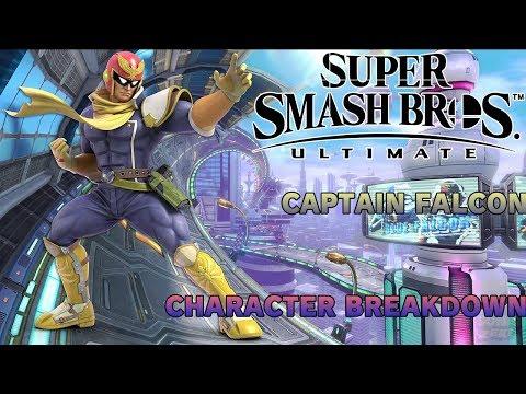 Captain Falcon Breakdown: Super Smash Bros. Ultimate thumbnail