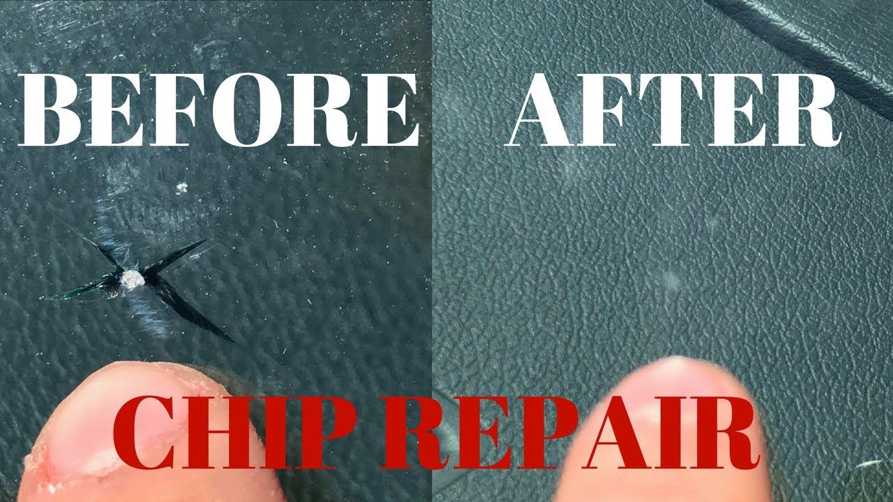 Rock Chip Repair >> Windshield Rock Chip and Crack Repair - YouTube