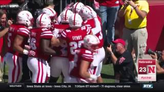 Wyoming at Nebraska: Football Highlights