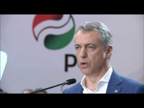 Discurso de Iñigo Urkullu en el mitin de cierre de campaña 26J, tu voto EAJ PNV
