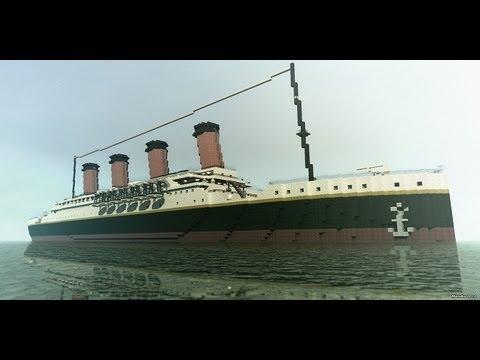 Minecraft Titanic Episode 1 partie 1