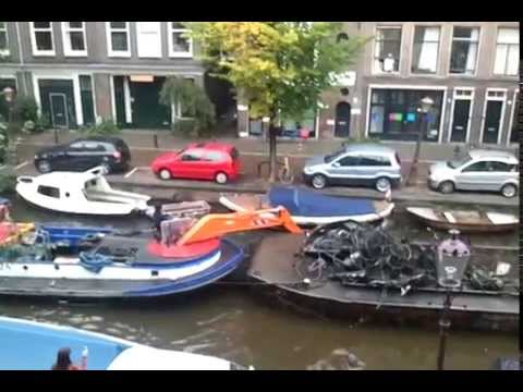 Cleaning the Amsterdam canals (1/2)