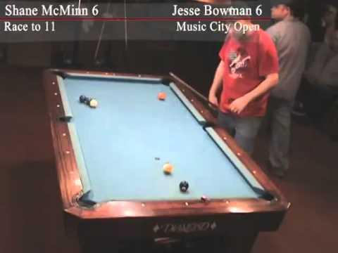 Jesse Bowman v Shane McMinn