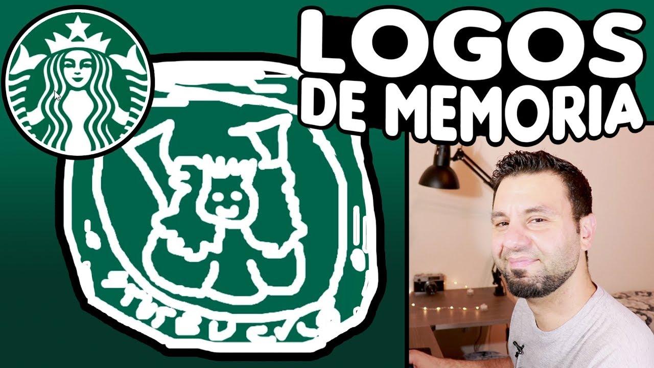 Dibujando Logos De Memoria Youtube