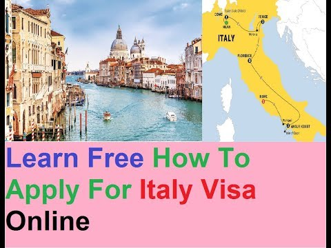 Italy Visa : Apply Online