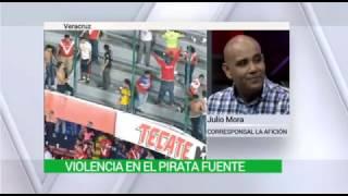 ASI COMENZÓ LA BRONCA DEL VERACRUZ VS. TIGRES