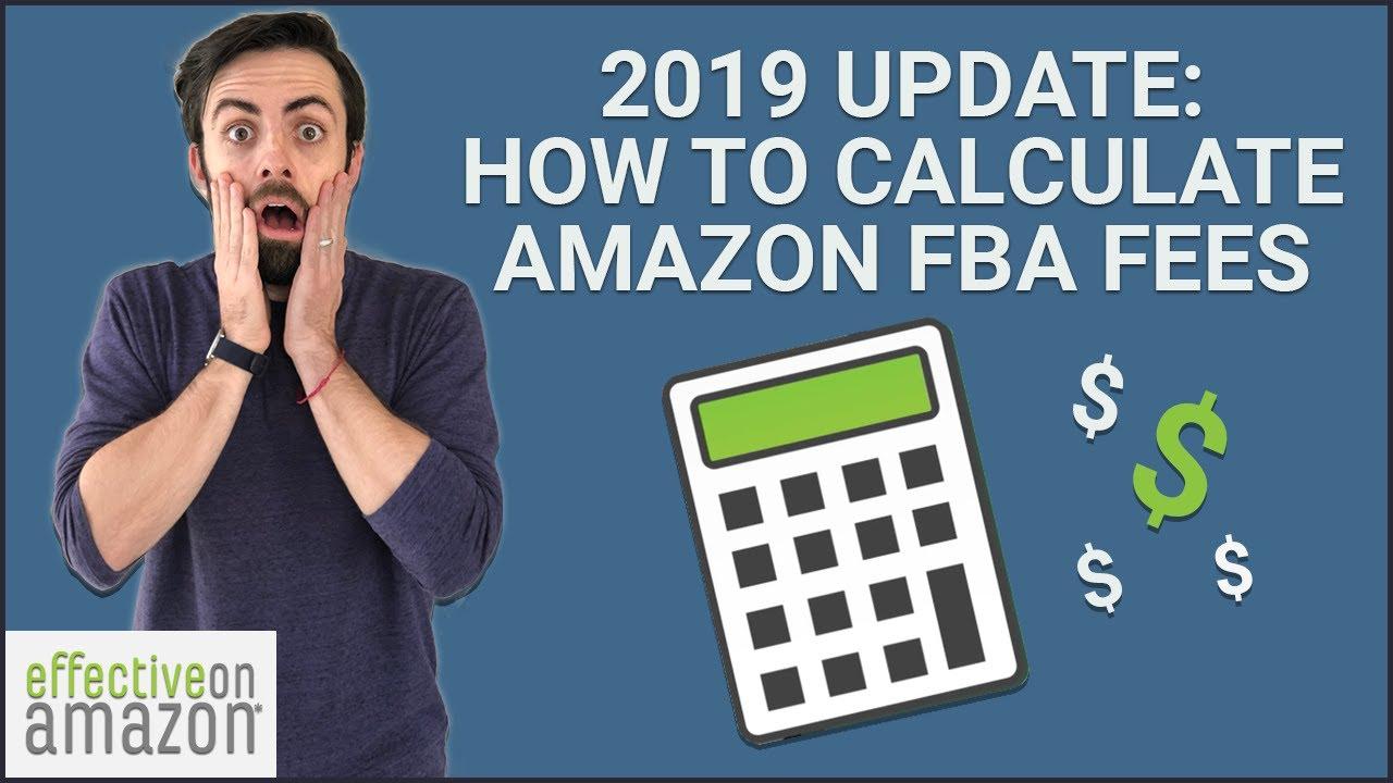 amazon fba fees 2019
