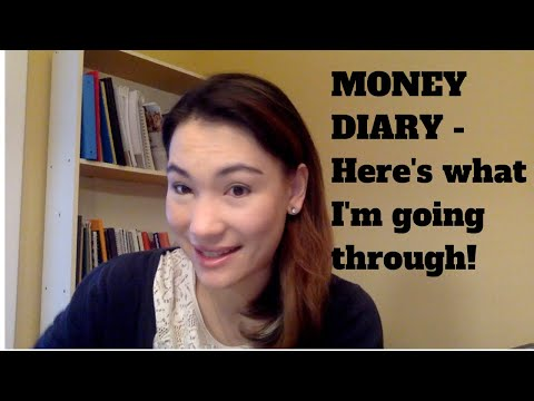 """Money Diary - """"Glad That's Behind Me!"""" What I've Been Going Through... And What I Spent."""