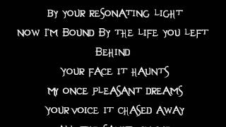 Evanescence- My Immortal (Acoustic) (Lyrics)