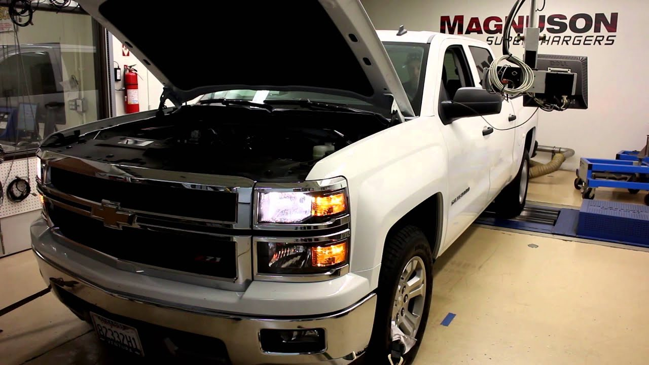 Magnuson Supercharger for 2014 GM Sierra and Silverado 5 3L Direct  Injection trucks