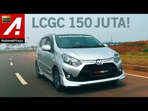Review Toyota Agya 1.200 cc test drive by AutonetMagz