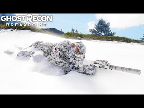 Ghost Recon Breakpoint PERFECT STEALTH SNIPER! Ghost Recon Breakpoint Free Roam