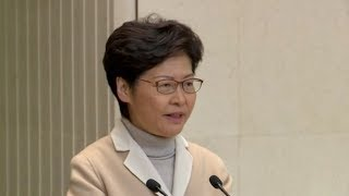 Carrie Lam promises continued efforts to protect human rights