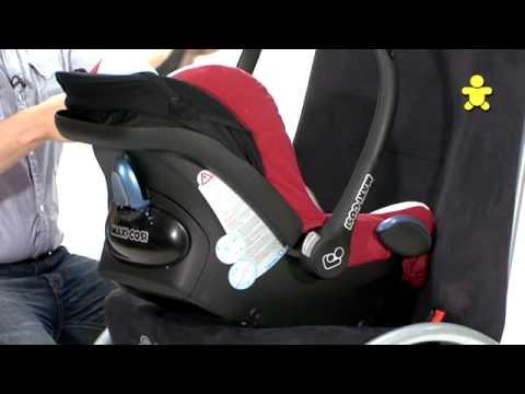 maxi cosi cabriofix car seat youtube. Black Bedroom Furniture Sets. Home Design Ideas