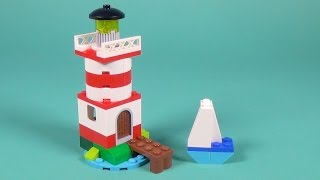 """Lego Lighthouse Building Instructions - Lego Classic 10692 """"How To"""""""