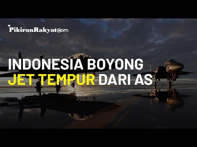 Prabowo Sukses Boyong F-15 dan F-18, Petinggi Pentagon: Indonesia Telah Dorong AS Jual Jet Tempur