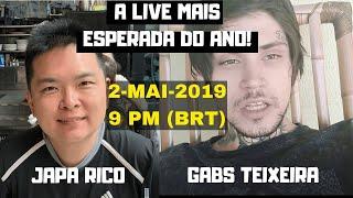 A LIVE MAIS ESPERADA DO ANO: JAPA RICO E GABS TEIXEIRA