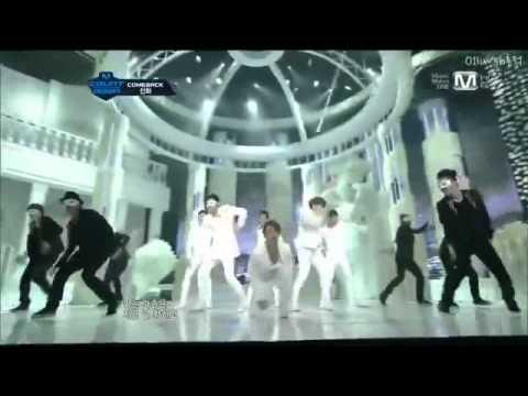 120329 - SHINWA - Venus - Comeback Stage Live M!Countdown