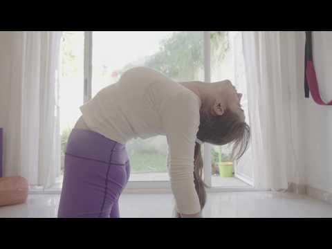 Ustrasana (el Camello) #yogatutorial