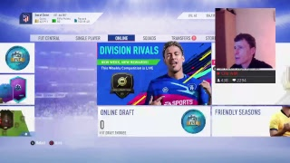 FUT CHAMPIONS GOLD 1 & DIVISION RIVALS RANK 3 REWARDS!!! (FIFA 19) (LIVE STREAM)