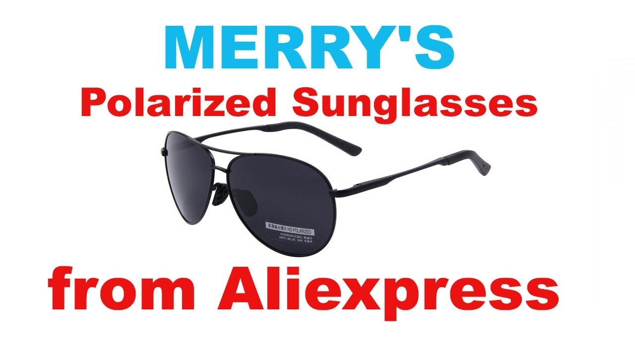 e8cf03adce3 MERRY S Pilot Polarized Sunglasses - YouTube
